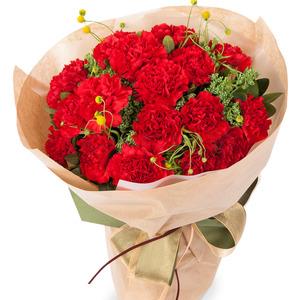 빨간카네이션꽃다발